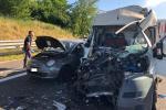 E' un polesano di 46 anni la vittima dell'incidente in autostrada