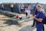 A San Basilio per assistere agli scavi archeologici