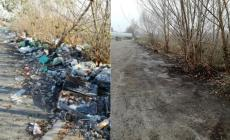 I guardiani dell'ambiente liberano la discarica