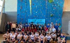 Campionato di arrampicata, prima edizione baciata dal successo