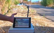 Contro i vandali dei rifiuti arrivano le super telecamere portatili
