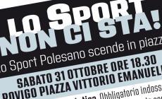 """""""Lo Sport non ci sta"""" ecco la manifestazione prevista per domani"""