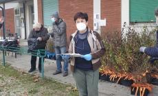 Ieri è partita la distribuzione delle piante ai cittadini
