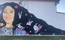 Un murales dedicato a Ishrak, giovane vittima di femminicidio
