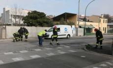 Intervento in corso in viale Oroboni per una fuga di gas