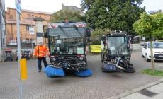 Due nuovi veicoli per la pulizia delle strade