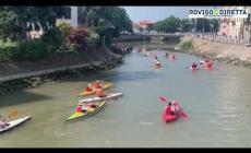 Ad Adria una marea di canoe sul Canalbianco