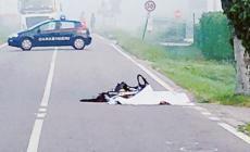 Investe e uccide un cicloturista