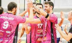 I nerofucsia centrano la sesta vittoria consecutiva in Serie A3