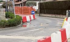 Lavori, senso unico in via Torino