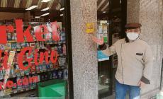 """Locale Storico Veneto"" la targa ricevuta dal minimarket"