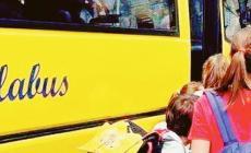 Scuolabus, arriva lo sgravio