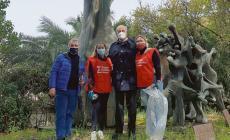 Monumento a Matteotti, ripulita l'area