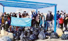 Raccolti 118 sacchi di immondizia