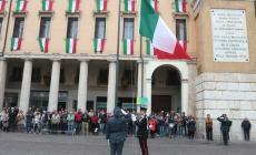 25 aprile in tempi di pandemia e piazza Merlin col tricolore