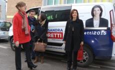 Alessandra Moretti<br/>scommette sulla sicurezza