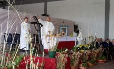 Messa al mercato ortofrutticolo <br/> con la benedizione delle croci