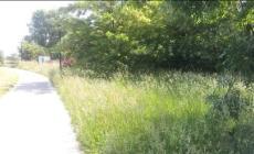 Il percorso delle zanzare <br/> lungo la ciclabile di San Sisto