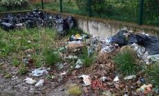 Parco Maddalena in condizioni pietose <br/> un'area verde lasciata a se stessa