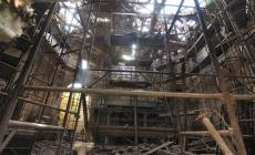Chiesa di Buso vittima del maltempo <br/> il tetto è crollato sotto la pioggia