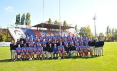 """Oggi in edicola con la """"Voce"""" il poster della Femi Cz Rugby Rovigo"""