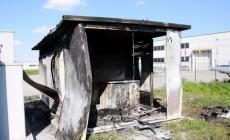 Cortocircuito nella centralina <br/> a fuoco cabina di un impianto fotovoltaico