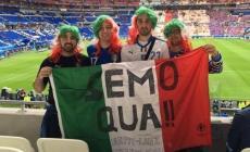Badia-Lione in auto per l'Italia <br/> l'avventura azzurra di 4 amici
