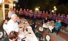 Zambelli carica i Bersaglieri alla cena di inizio stagione ad Albarella