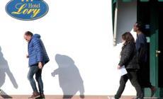 I profughi dell'Hotel Lory trasferiti in due appartamenti a Ficarolo