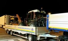 Elicotteri e mezzi dal Veneto alle zone terremotate