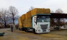 Coldiretti dal cuore grande: 200 quintali di fieno per il Centro Italia