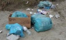 Scempio a Bottrighe: rifiuti nello squero