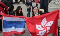Studenti di tutto il mondo si incontrano sul liston