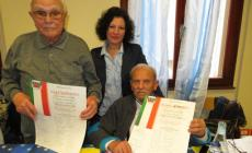 Premiati i due partigiani Nali e Roma