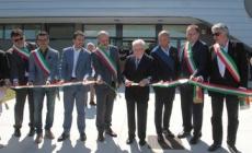 Il nuovo palazzetto inaugurato dal presidente del Coni Giovanni Malagò