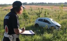 Incidente a Rovigo, un'auto va fuori strada