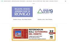 Pubblicità al referendum autonomista sul sito dell'Ulss