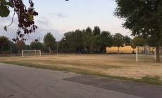 Area giovani, ecco il campo di calcio