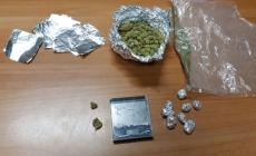 In manette per possesso e spaccio di marijuana