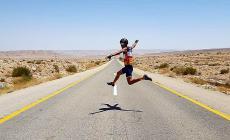 Franceschini, dal Mar Morto a Tel Aviv in bicicletta: un'avventura da raccontare