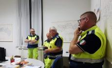 Assegno anonimo di 650 euro per la Protezione Civile