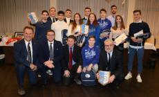 Premi per i polesani che vestono l'Azzurro