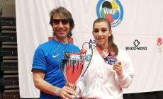 La giovane polesana rappresenterà l'Italia agli europei
