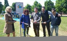 Inaugurata la nuova area giochi al parco Baden Powell