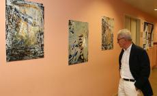 Maurizia Braga regala la sua arte al day hospital oncologico