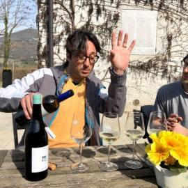 Chardonnay e Pinot Nero la scommessa vinta di Dario e Silvia Dall'O, in Trentino a Cavedine