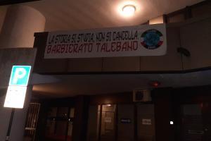 Striscioni contro Barbierato, intervengono i carabinieri