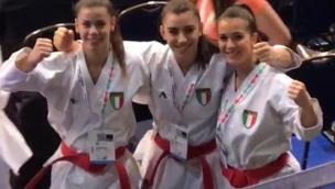 Elena, la super karateka polesana vince l'oro in Europa