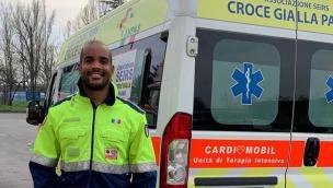 Dal campo da rugby all'ambulanza, una scelta di coraggio