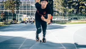 Davide Lei lo sprinter più veloce